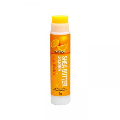 Orange Shea Butter & Jojoba Lip Balm 5g