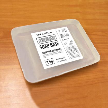 Transparent Soap Base (SLS FREE) 1kg