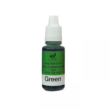 Soap Dye Green Color 10ml